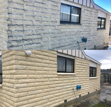 Exterior stone cleaning and re sealing